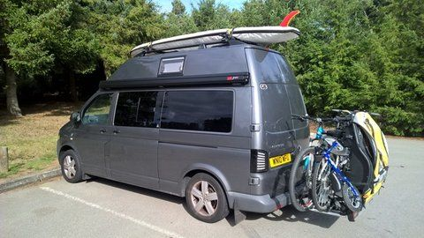 Vw t5, Volkswagen camper