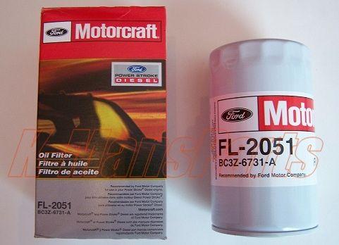 Motorcraft Oe Oil Filter For Ford F Series 6 7 Powerstroke Diesel Applications Motorcraft Part Number Fl 2051 Ford P Powerstroke Diesel Motorcraft Oil Filter