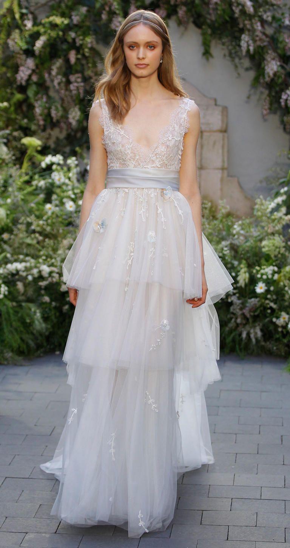 Monique lhuillier 2017 bridal collection spring 2017 for Monique lhuillier wedding dresses