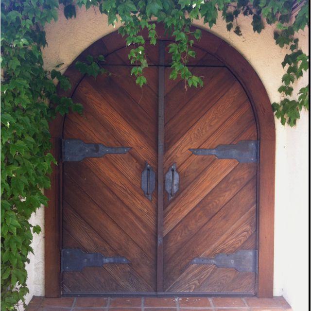 Kitchen Door Napa Ca: Lovely Door At Grgich Winery In Napa Valley