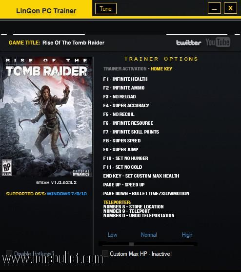 Download Rise Of The Tomb Raider Steam V1 0 623 2 17 Trainer For Rise Of The Tomb Raider At Breakneck Speeds With Resume Sup Rise Of The Tomb Tomb Raider Tomb