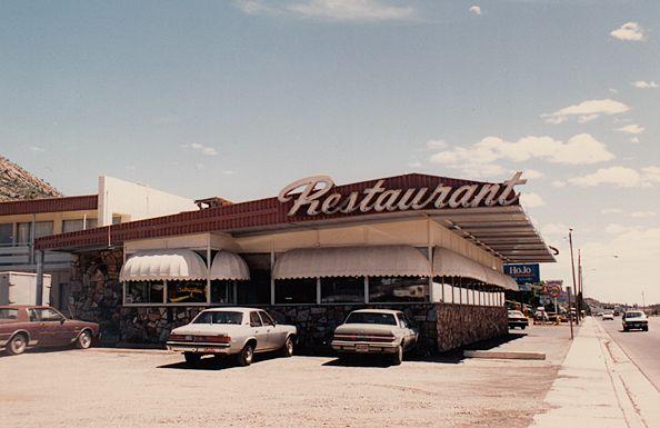 Restaurant on Route 66 in Seligman, AZ. Photo by Dave Bravenec