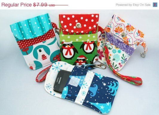 Susie D\'s Padded Smart Phone Pouch - Sew and Sell