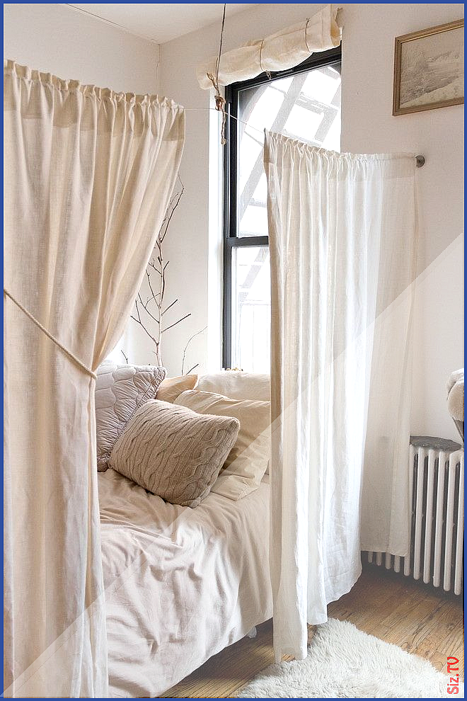 Schlafzimmer Dict Id Love To Do This With A Light Rose Curtain And A ...