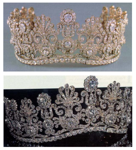 Diamond Tiara of Margarethe of Thurn und Taxis, I need a different one for eacch day!!! Don't YOU?!?!?!?