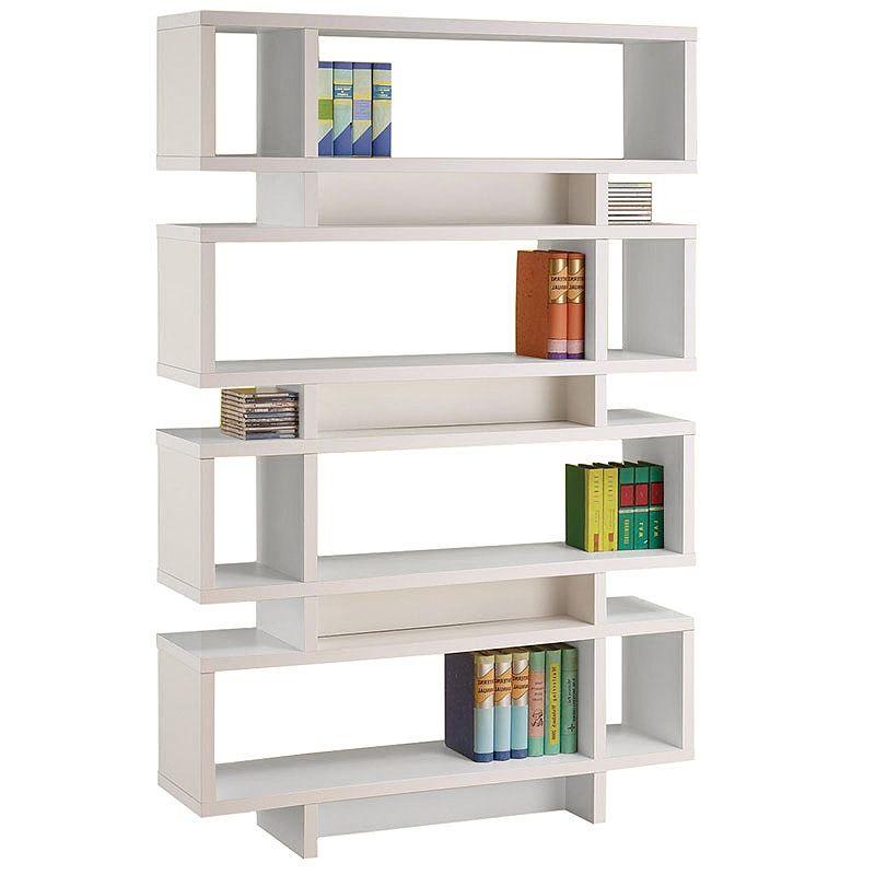 Cubic Bookcase White Contemporary Bookcase Bookcase