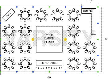 Ideas Wedding Table Layout Tent Reception Seating