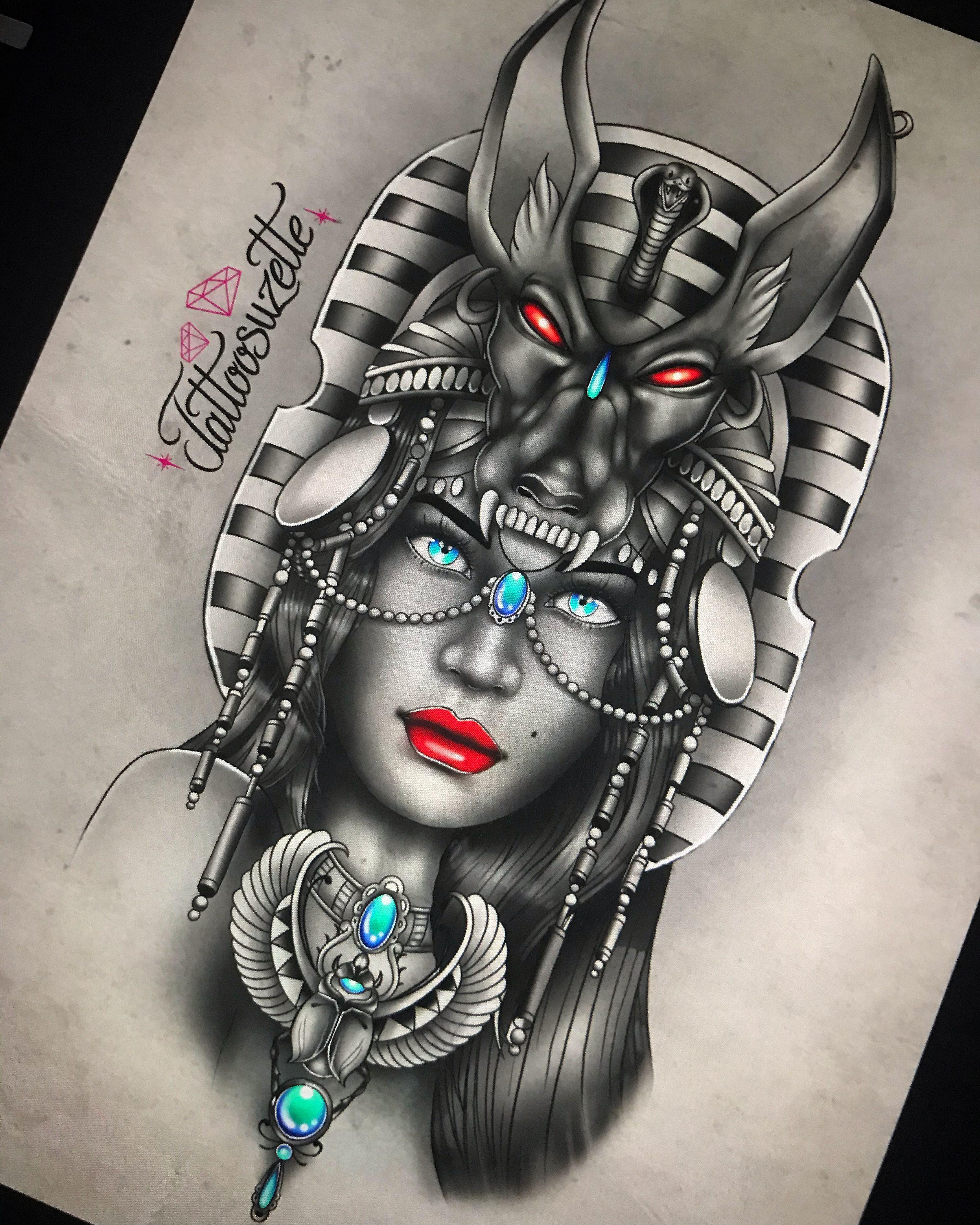 Egyptian Tattoo Design In 2020 Egyptian Tattoo Egypt Tattoo Design Tattoos