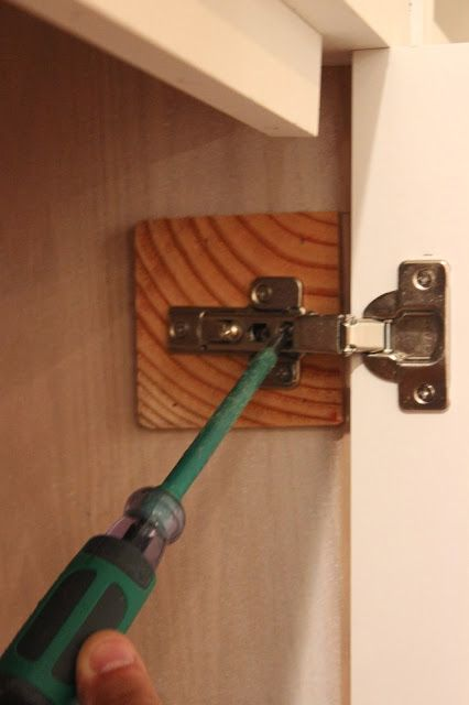 How To Install Inset Cabinet Doors With