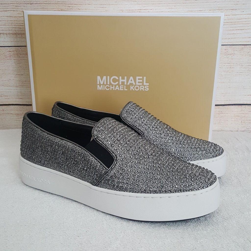 Michael Kors Shoes | New Michael Kors Trent Glitter Chain