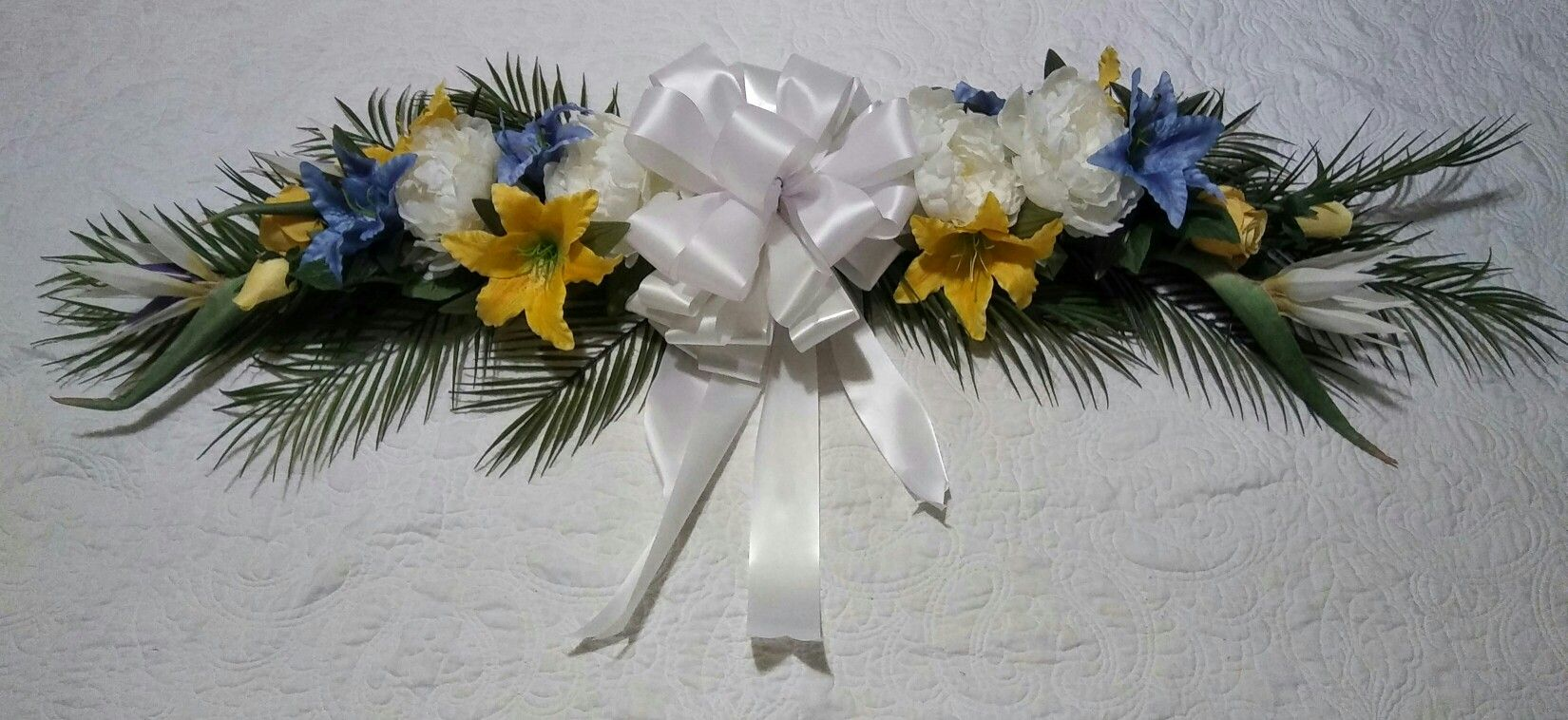 BIRDS OF PARADISE WEDDING Decor by Cole Creations (Swag for center of teaky hut at Hawaiian themed Wedding)
