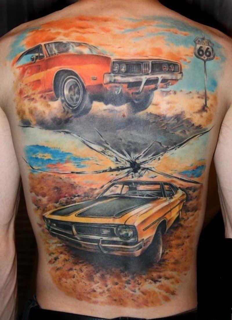 Car Sleeve Tattoo Classic Car Tattoo Design Fresh 2016 Tattoos