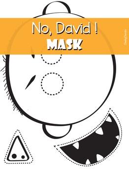 No David Mask 3 Pack No David David Shannon Author Studies