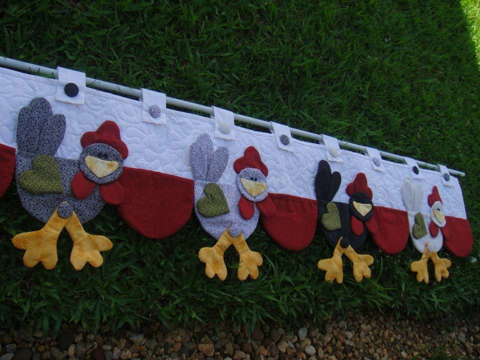 Para las fan ticas de las gallinas preciosa cenefa para - Cenefas para pared ...
