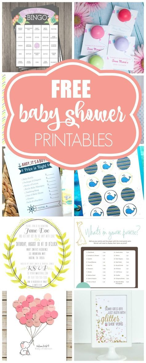 15 free baby shower printables free baby shower printables baby 15 free baby shower printables pretty my party solutioingenieria Image collections