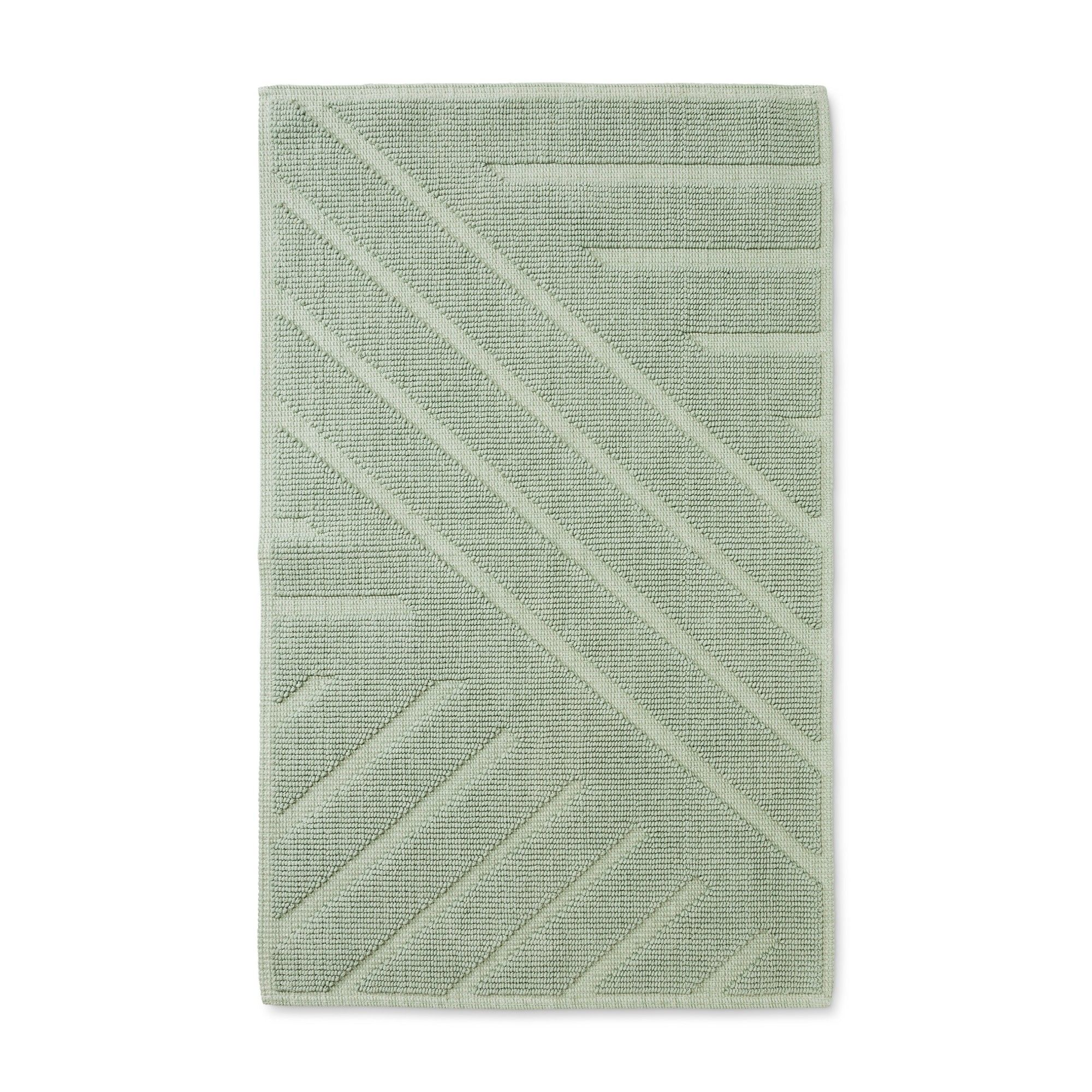 34 X20 Woven Cotton Bath Rug Green Project 62 Nate