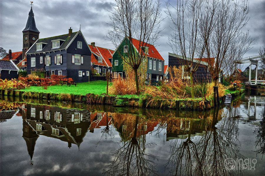 Edam, in the province of North Holland, Netherlands.   Go to www.YourTravelVideos.com or just click on photo for home videos and much more on sites like this.