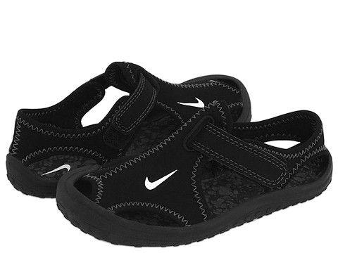 f294f496960a Nike Kids Sunray Protect (Infant Toddler) Black White Dark Grey -  Zappos.com Free Shipping BOTH Ways