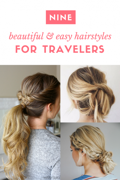 9 Beautiful And Easy Hairstyles That Travel With You Easy Hairstyles For Kids Travel Hairstyles Easy Hairstyles