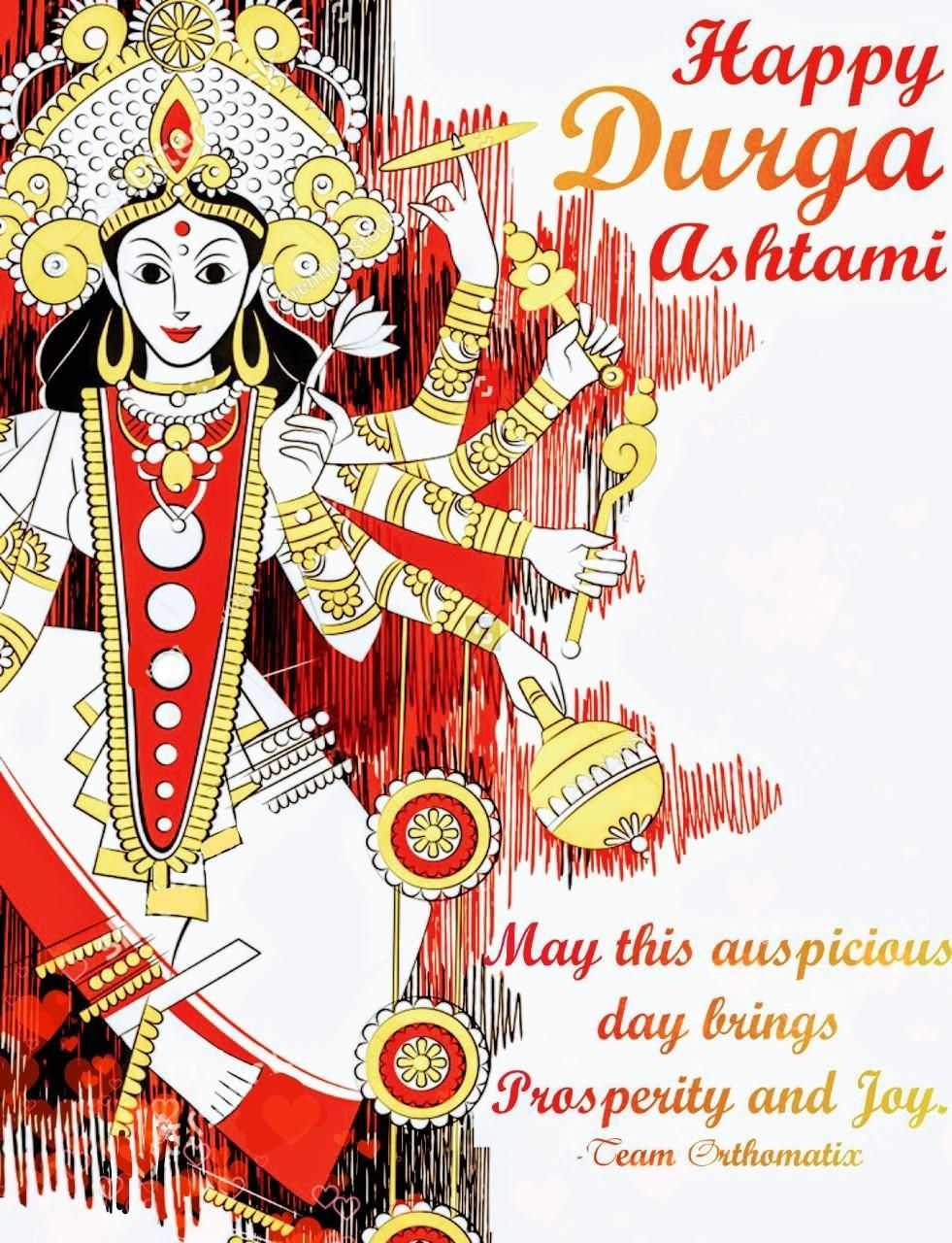 Orthomatix dental LinkedIn Durga goddess, Festivals of
