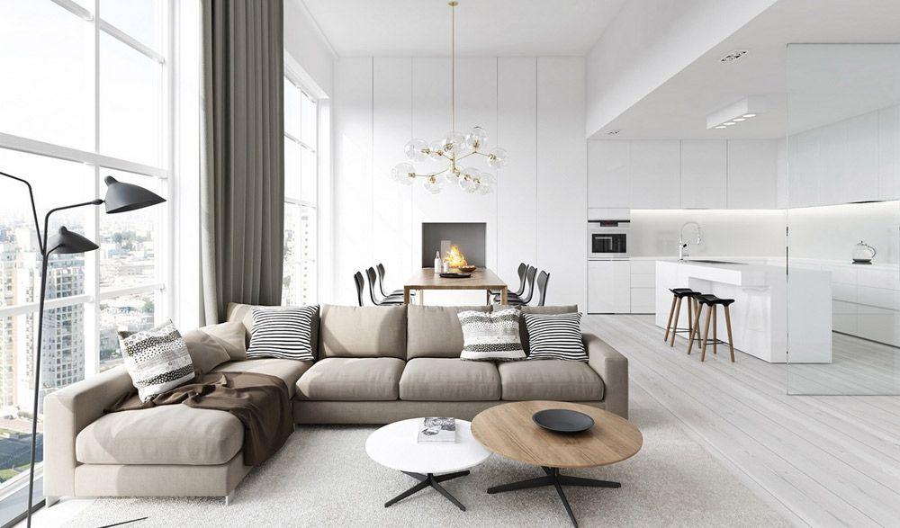 Modern Living Room Ideas White modern living room ideas | interior design | pinterest | modern