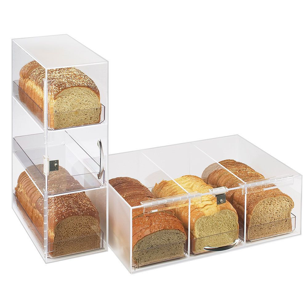 Cal Mil 1204drawer Clear Replacement Drawer For Bread Boxes Bread Display Pastry Display Bread Container