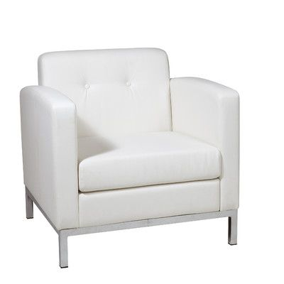 Wade Logan Mapleton Arm Guest Chair Color: