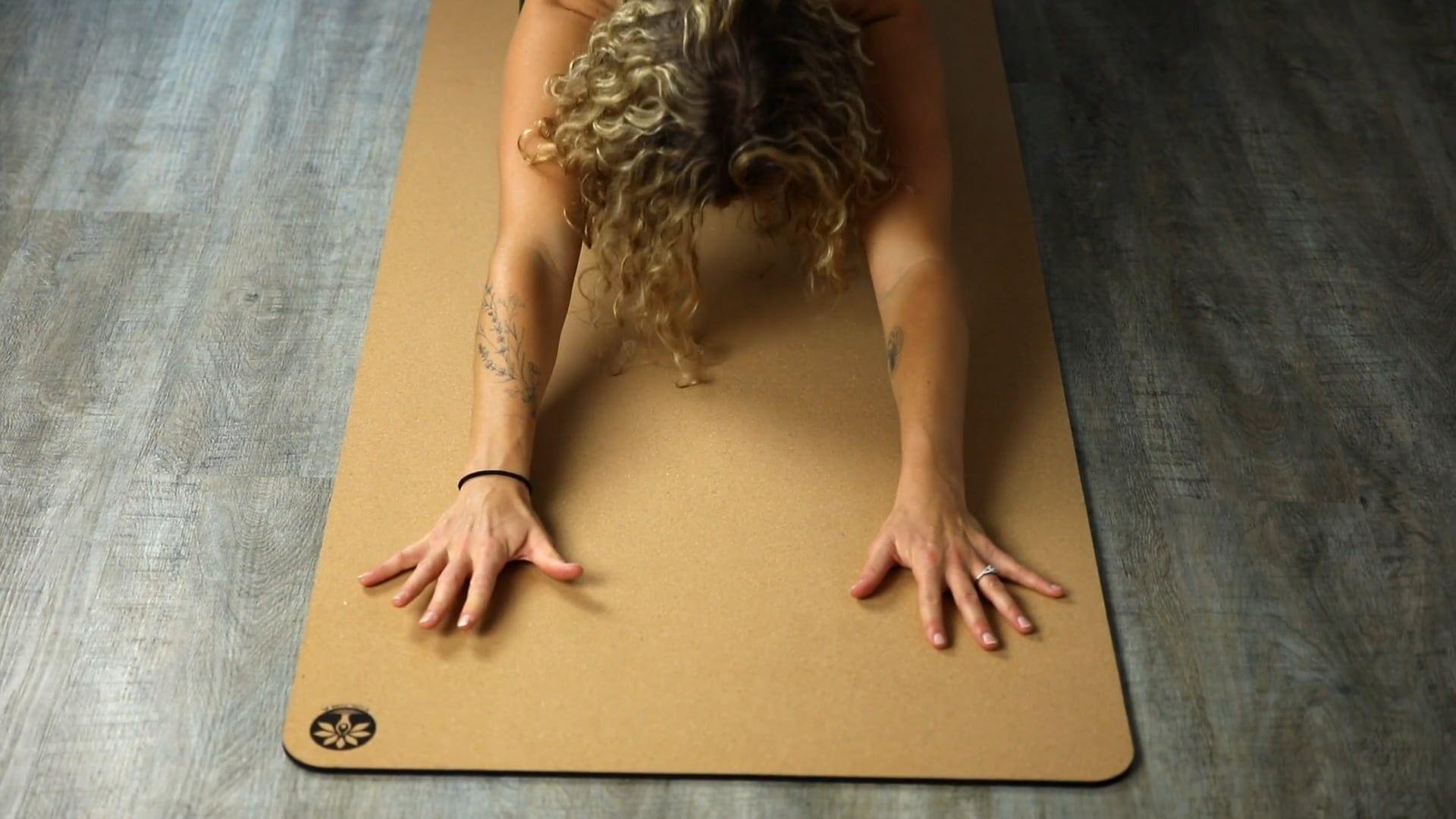 Discover the Aura Cork Yoga Mat