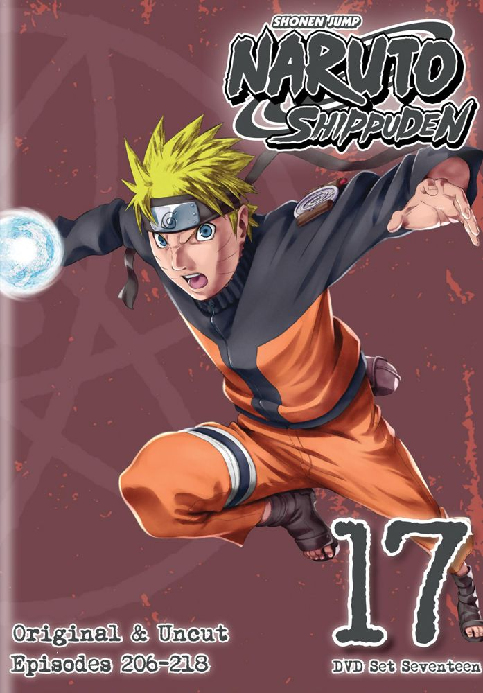 Naruto Shippuden Dvd Set 17 Hyb Uncut Rightstuf2014