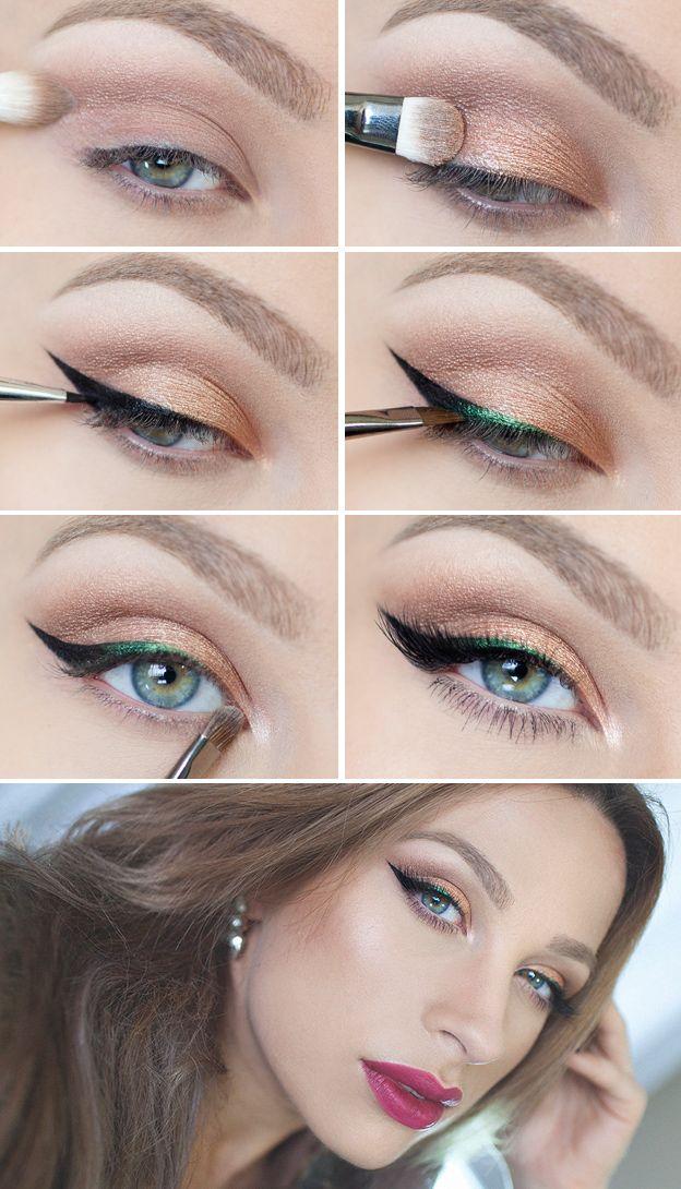 Как рисовать стрелки на глазах? (50)