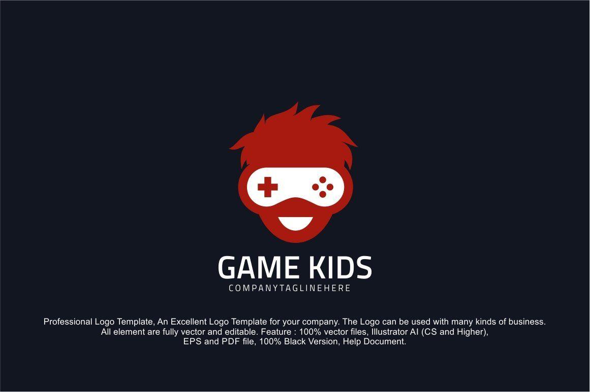 Geek Gamer Logo Template Logo Templates Logo Design Template Professional Logo Design