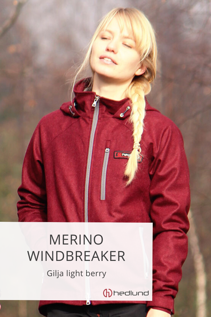 hedlund Damen Merino Windbreaker Gilja light | Outdoor