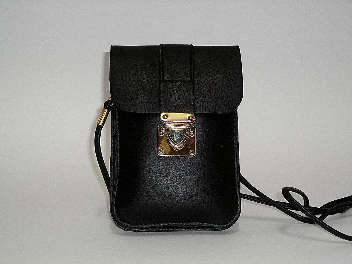 3ae5c2332 Bolsa em couro sintético <br>Pequena e prática, dá para levar celular,