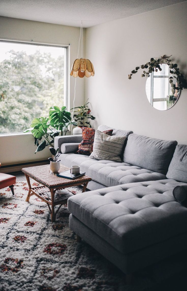 Living Room Inspo // Rove Concepts My roommate and I moved ...