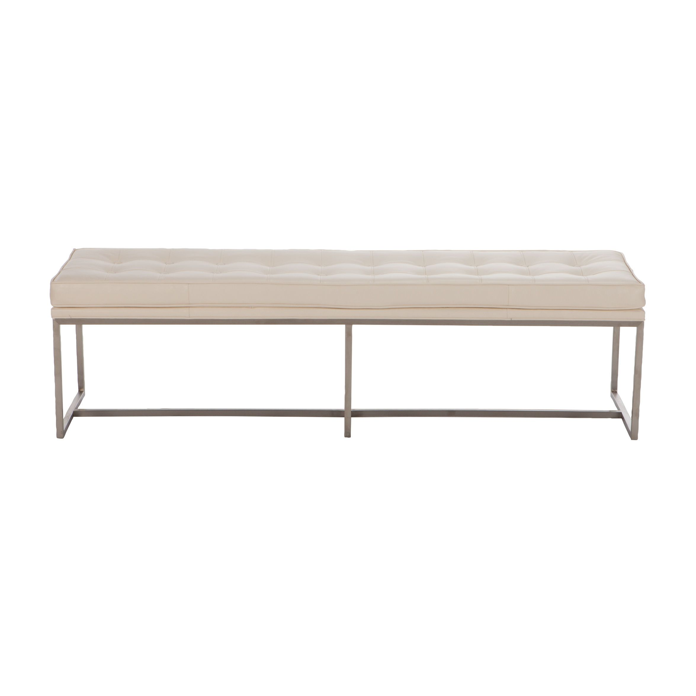 Ethan Allen Tufted Coffee Table: Matteo Leather Benches - Ethan Allen US