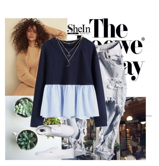 """""""Untitled #292"""" by mariana-fifi-cardoso ❤ liked on Polyvore featuring Loewe, Barker, Vans and Charlotte Russe"""