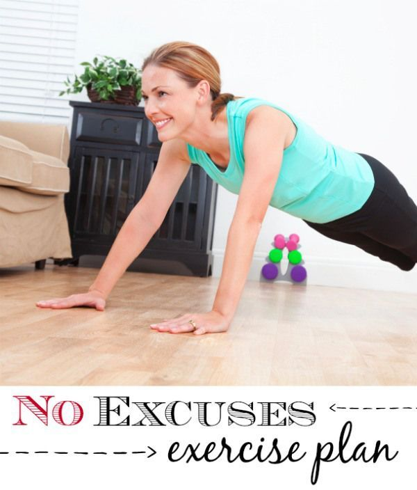 """It's time to stop making excuses to not exercise. Get moving to """"fit"""" fitness into your life to stay healthy and active."""