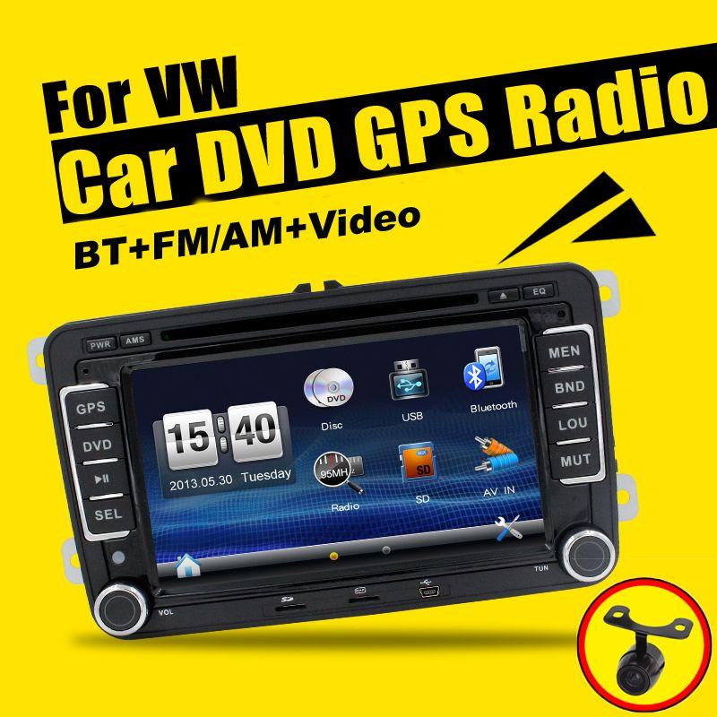 8 inch Car DVD GPS Navi HeadUnit Radio for Vw Golf Passat Tiguan Eos