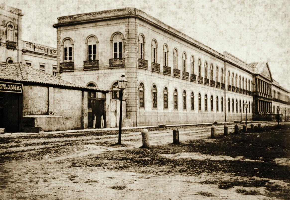 Santa Casa da Misericórdia do Rio de Janeiro Óleo sobre tela de Domingos Rebelo, 1919 Acervo Museu Carlos Machado