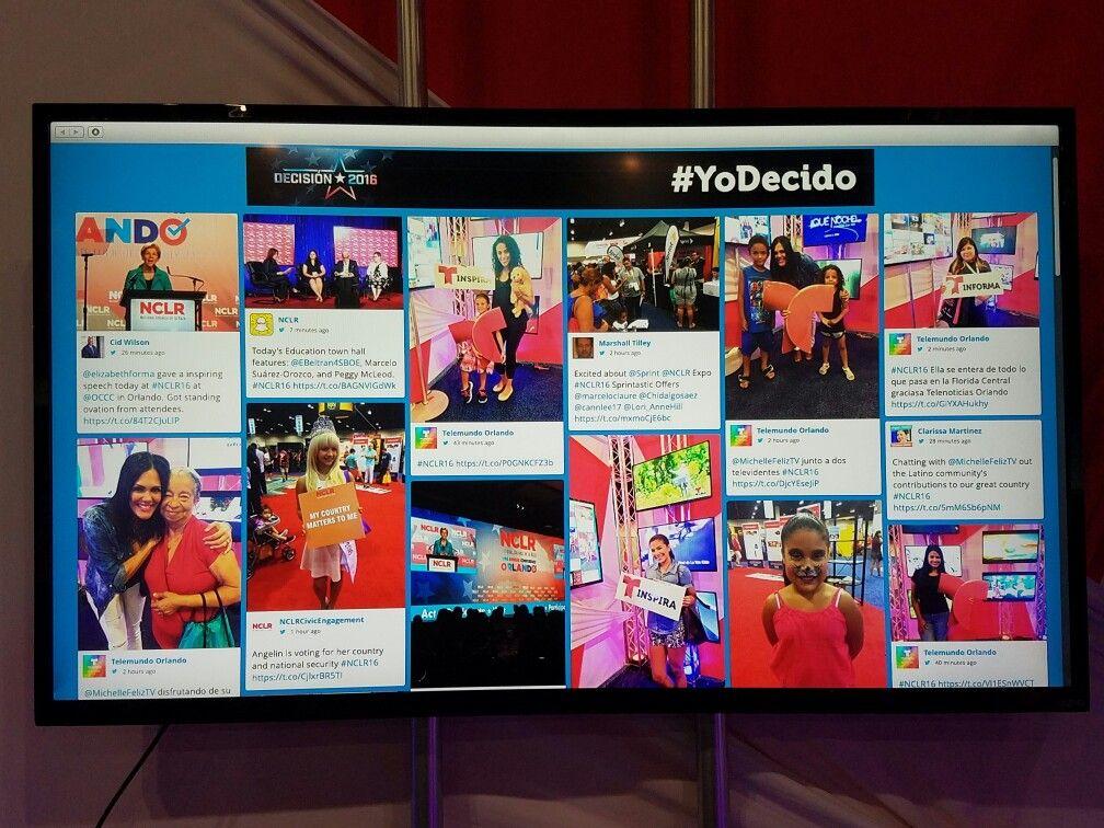 Telemundo Social Media Booth @ NCLR