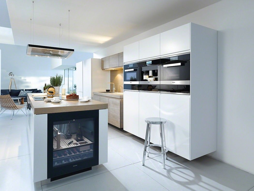 Designer Appliances For The Modern Home - Miele Built In Oven & Wine ...