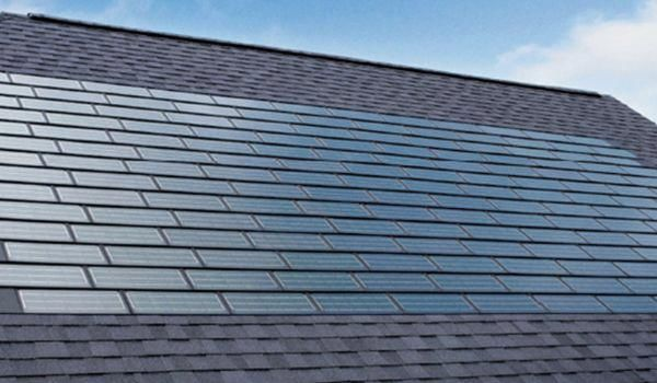 Tesla Will Offer Four Types Of Shingles That Can Be Used For Different Tesla Will Offer Four Types Of Shingles T In 2020 Solar Shingles Solar Panels Roof Solar Roof