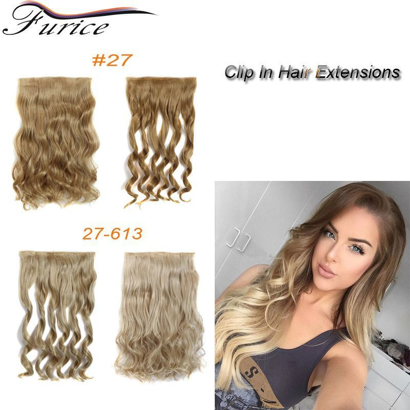 Aliexpress Buy 5 Clip In Hair Extensions 255inch 120g Long