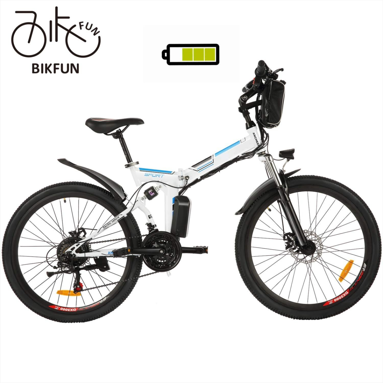 Bikfun Elektrofahrrad 20 26 Zoll E Bike Lithium Akku 36v 8ah