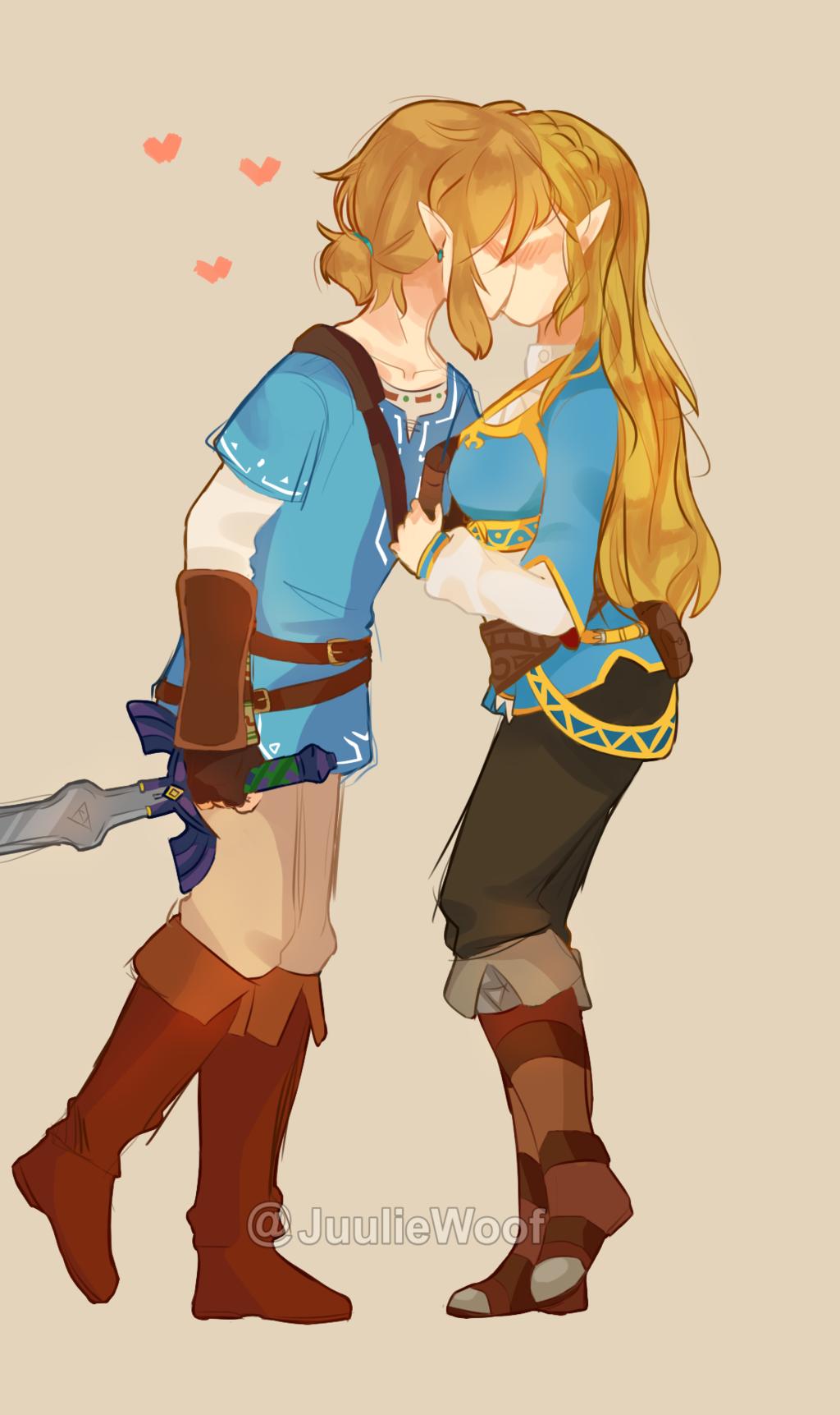 Breath Of The Wil Zelink By Juuliewoof Legend Of Zelda