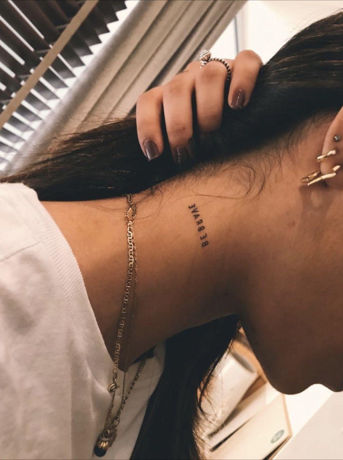 Pin De Olivia Miramontes En Tatu Tatuajes Pequenos Cuello Tatuajes Intimos Tatuajes Femeninos