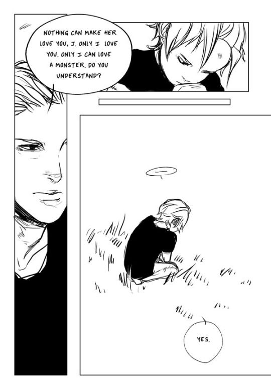 Valentine and Jonathan (sebastian) as a kid prt 3. This is all very sad.