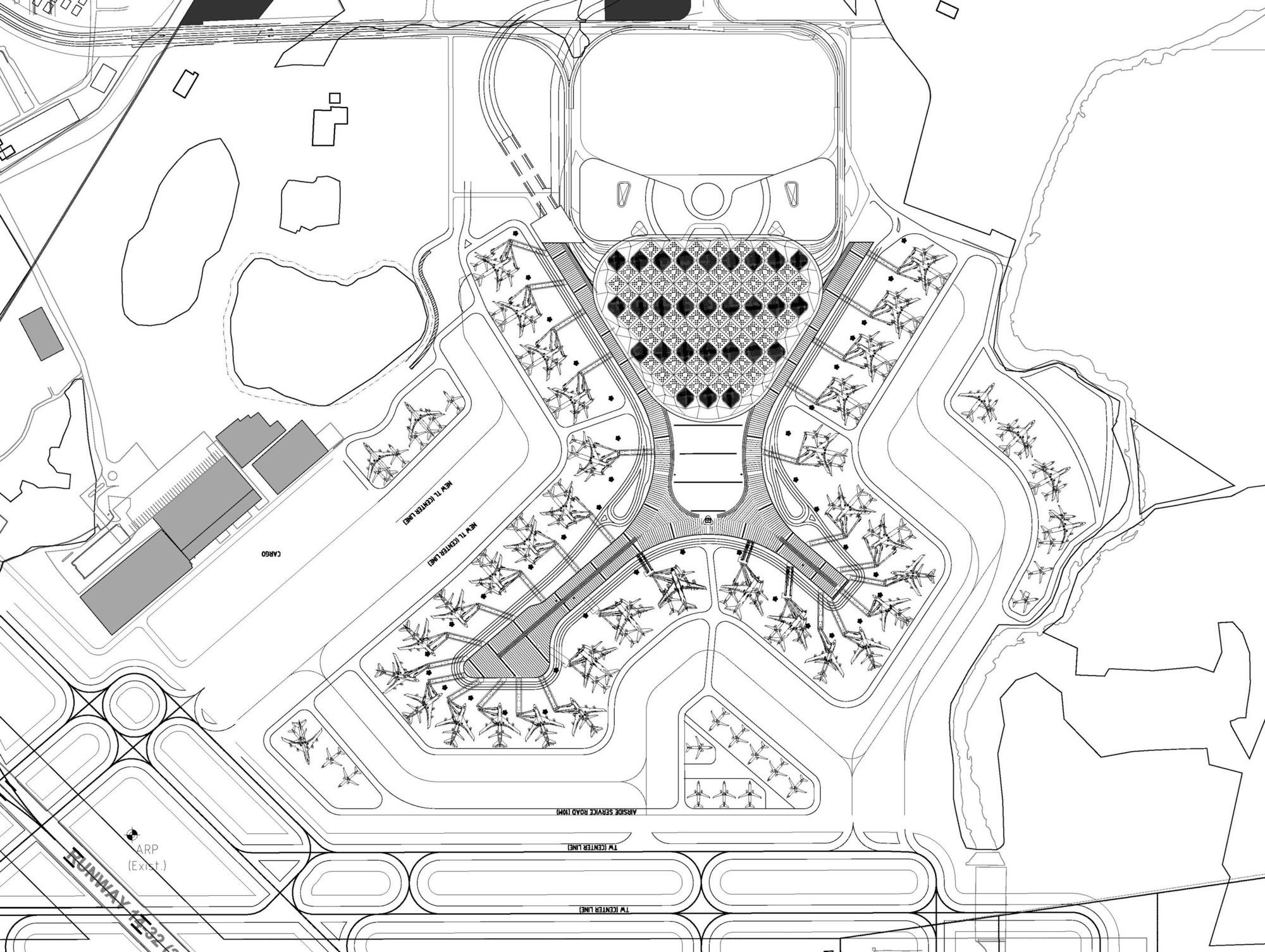 Gallery of chhatrapati shivaji international airport terminal 2 som 11 architecture Airport planning and design course