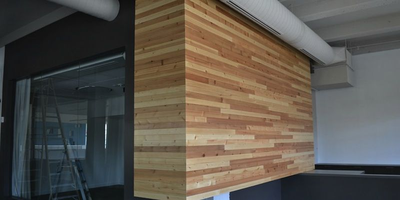 Siberian Spruce by Viridian is a mixture of pine and spruce reclaimed from  Russian shipping crates · Reclaimed Wood PanelingShipping ... - Siberian Spruce By Viridian Is A Mixture Of Pine And Spruce