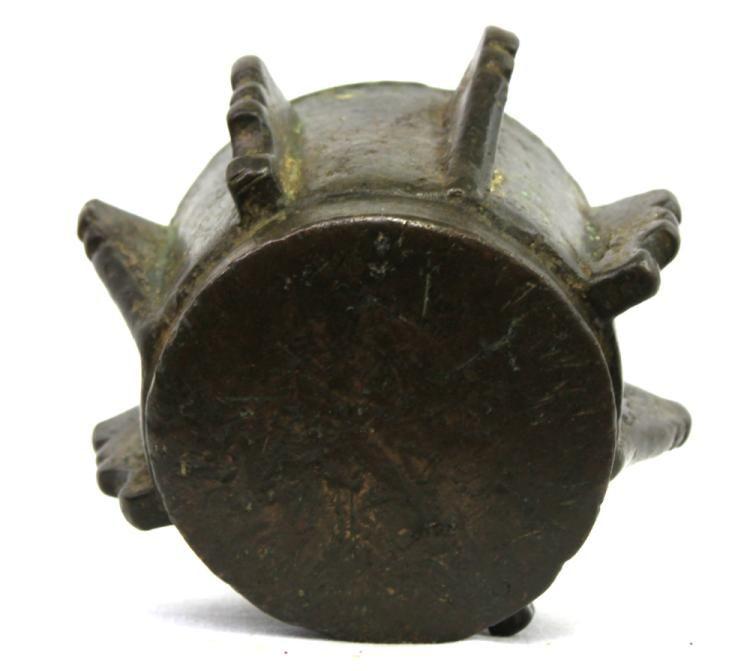 17 Century Spanish Bronze Mortar